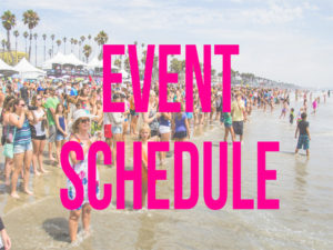 Event Schedule Box