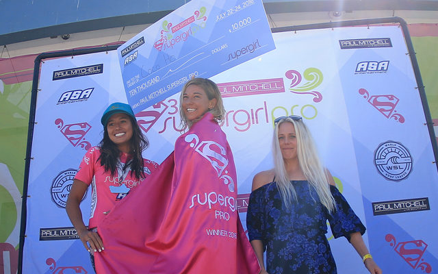 COCO HO TAKES FIRST AT PAUL MITCHELL SUPERGIRL PRO, TOPS 114 COMPETITORS TO EARN THIRD EVENT TITLE AT WSL WOMEN'S QS6000 SURF CONTEST
