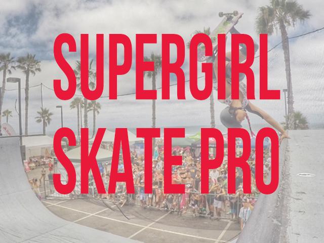 Supergirl Skate Pro Box